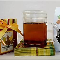 Cookies and Tea Fall Gift Set