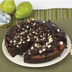 Deep Dish Brownie Pie