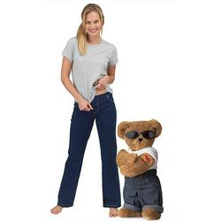 Mama's Boy Teddy Bear and PajamaJeans Gift Set