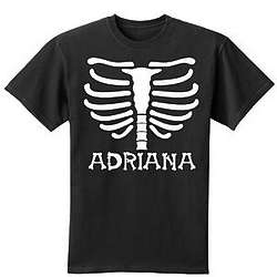 Personalized Halloween Adult T-Shirt