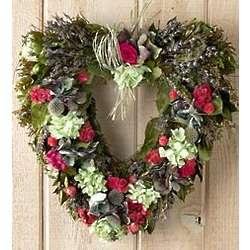 Garden Jubilee Heart Wreath