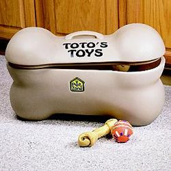 Personalized Pet Toys Storage Box