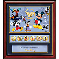 85th Anniversary Mickey Mouse Commemorative Canvas Print
