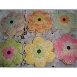 Homemade Flower Power Sugar Cookies