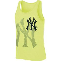 New York Yankees Neon Yellow Tanktop