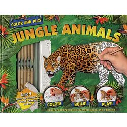 Jungle Animals Hardcover Book