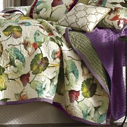 Watercolor Tropics Oversized/Reversible Quilt in Twin