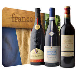 French Wine Trio Gift Set