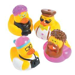 Hipster Rubber Duckies