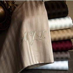 Valentino Stripe 1200 Thread Count Egyptian Cotton Sheet Set