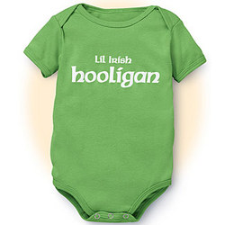 Lil' Irish Hooligan Romper