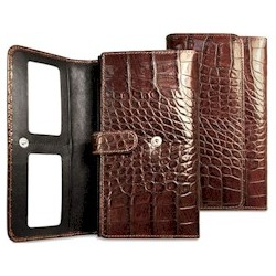 Croco Clutch Wallet
