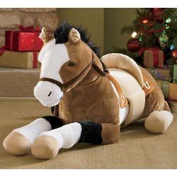 Jumbo Plush Horse