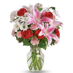 Love's Rush Flower Bouquet