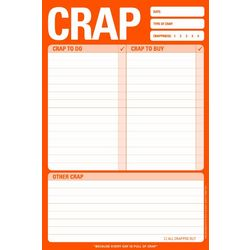 Crap To Do Note Pad