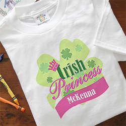 Personalized Irish Princess T-Shirt