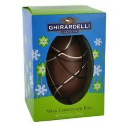 Ghirardelli Milk Chocolate Egg