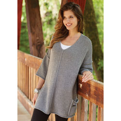 Cashmere Pocket Tunic