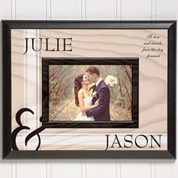To Love You Personalized Photo Plaque