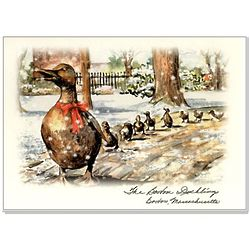 Boston Ducklings Holiday Cards