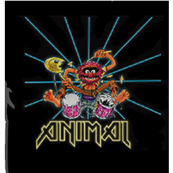 Animal Drummer T-Shirt