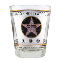 Hollywood Star Shotglass