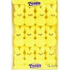 Marshmallow Peeps Yellow Easter Bunnies