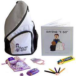 Flower Girl Wedding Activity Backpack