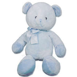 Tender Rattles Blue Bear Personalized Stuffed Animal