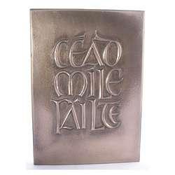 Cead Mile Failte Bronze Plaque