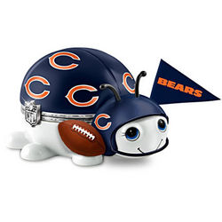 Chicago Bears Number One Fan Bug Music Box