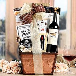 Duckhorn Vineyards Decoy Cabernet Gift Basket