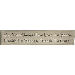 May You Always Inspirational Wall Plaque