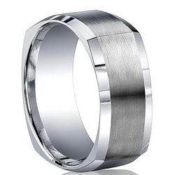 Argentium Sterling Silver Squared Ring