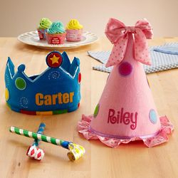 Personalized Birthday Crown or Princess Hat