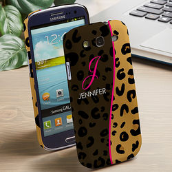 Animal Print Galaxy 3 Cell Phone Hardcase