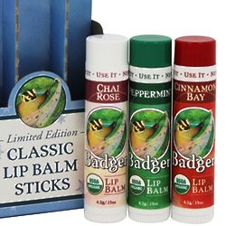 Holiday Organic Lip Balm Gift Set