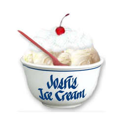 Personalized One Quart Ice Cream Bowl