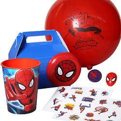 SpiderMan Favor Pack