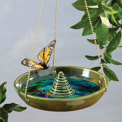 Hanging Butterfly Puddler and Bird Feeder