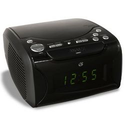 Clock Radio and CD Player