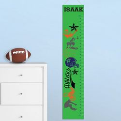 Personalized Super Sports Children's Height Chart