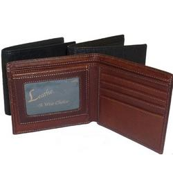 Men's Alligator Embossed Leather Billfold Wallet