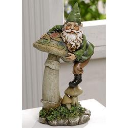 Mischievous Standing Celtic Gnome