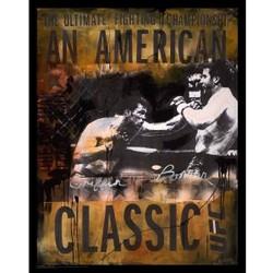Bonnar vs. Griffin American Classic Autographed Lithograph Print