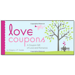 Love Coupons - A Coupon Gift of Love and Romance
