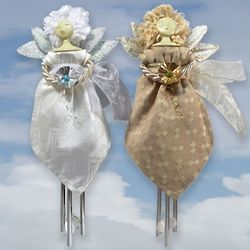 Celestial Angel Indoor Solar Chimes