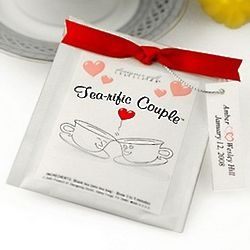 Tea-Rific Couple Tea Bag Favor