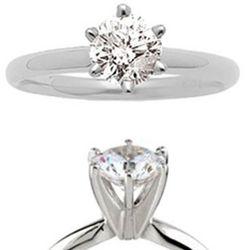 1.25 Carat Diamond Engagement Ring