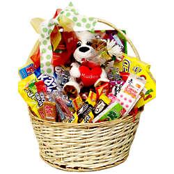 Kudos Large Candy Gift Basket